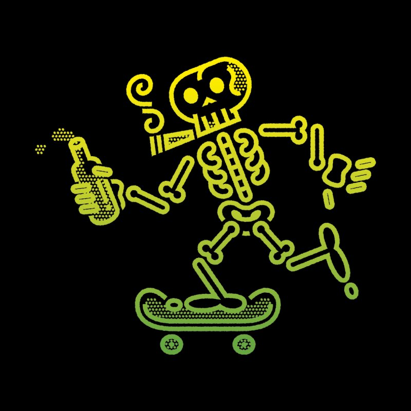 Skelly Yellow Green by ME&MO Design