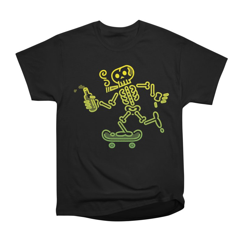 Skelly Yellow Green Men's Classic T-Shirt by ME&MO Design