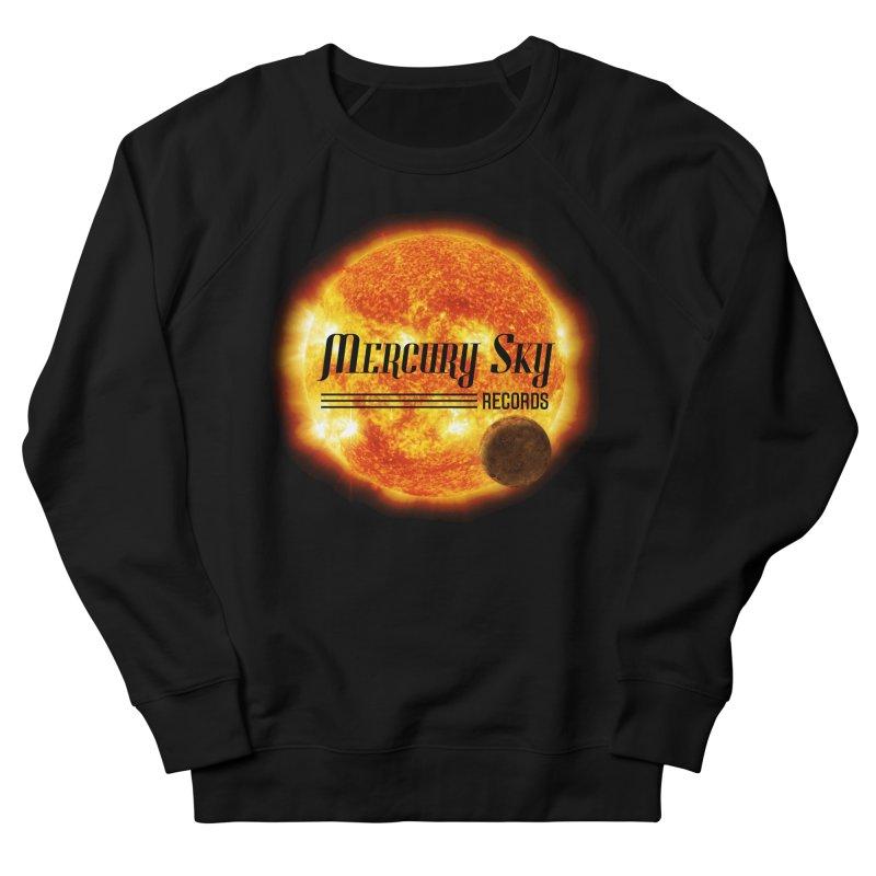 MERCURY SKY RECORDS SUN Women's Sweatshirt by MercurySkyRecords's Artist Shop