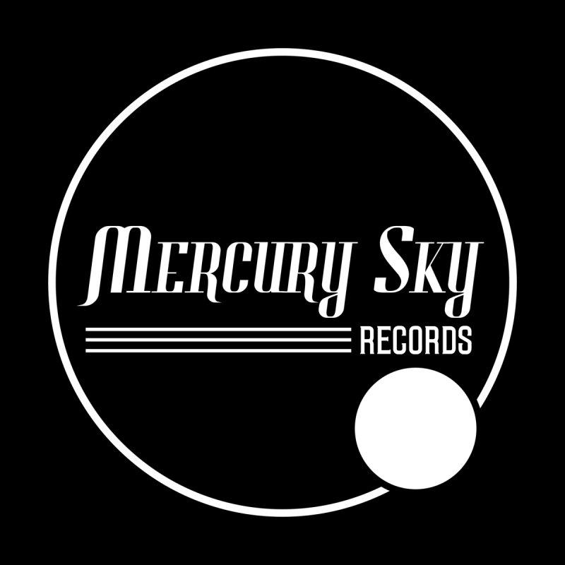 MERCURY SKY RECORDS WHITE Men's T-Shirt by MercurySkyRecords's Artist Shop