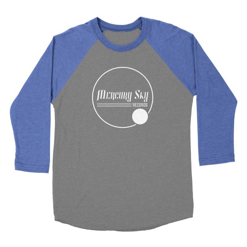 MERCURY SKY RECORDS WHITE Women's Longsleeve T-Shirt by MercurySkyRecords's Artist Shop