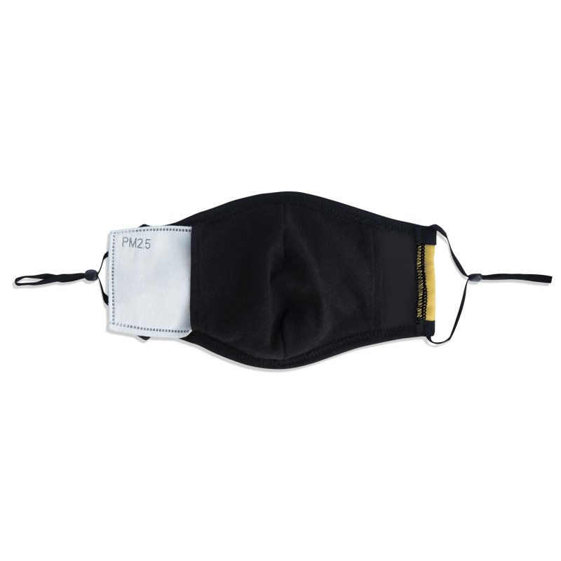 MERCURY SKY RECORDS BLACK Accessories Face Mask by MercurySkyRecords's Artist Shop