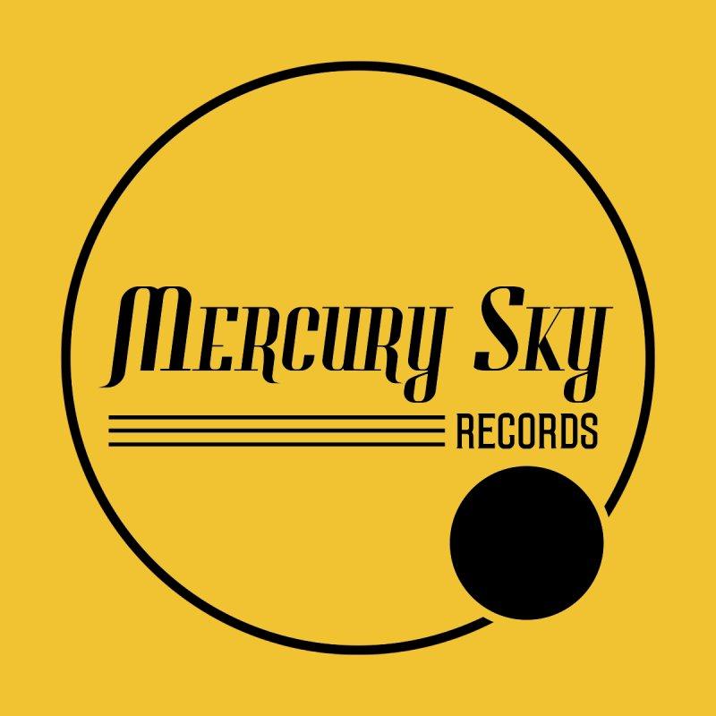 MERCURY SKY RECORDS BLACK Men's T-Shirt by MercurySkyRecords's Artist Shop