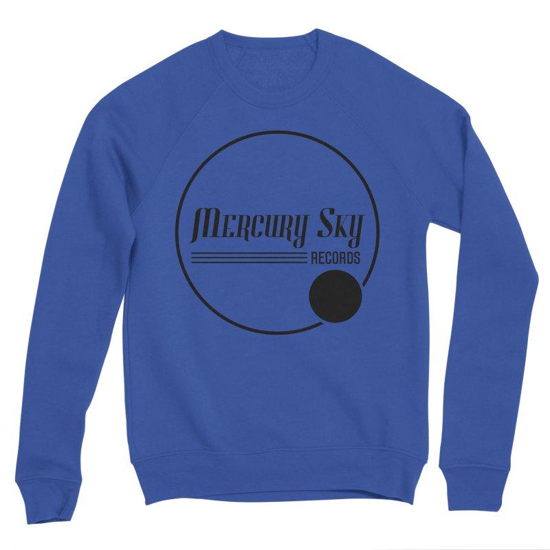 MERCURY SKY RECORDS BLACK Men's Sweatshirt by MercurySkyRecords's Artist Shop