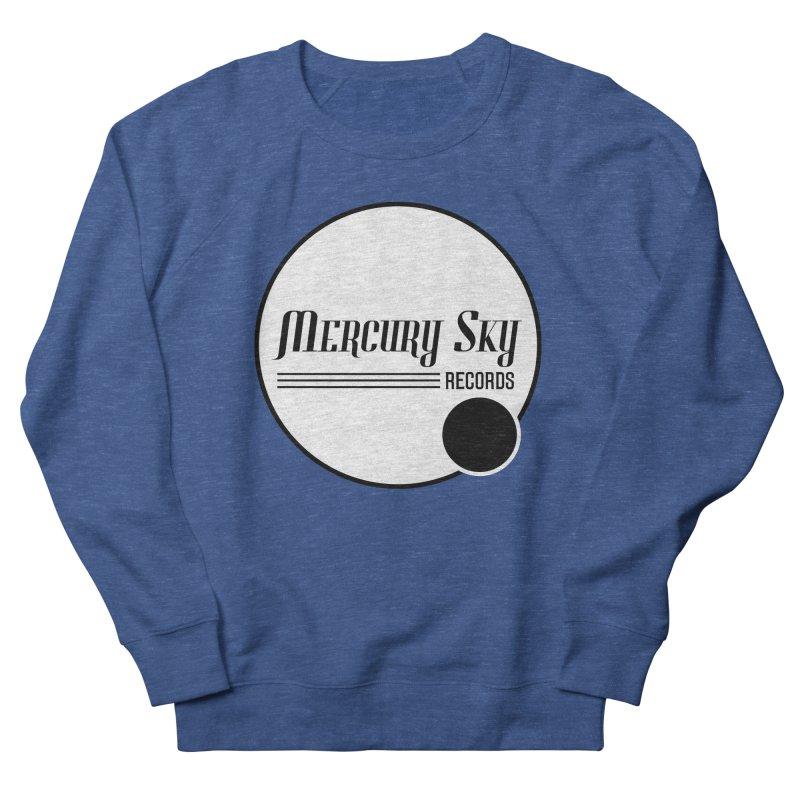 MERCURY SKY RECORDS SOLID Men's Sweatshirt by MercurySkyRecords's Artist Shop