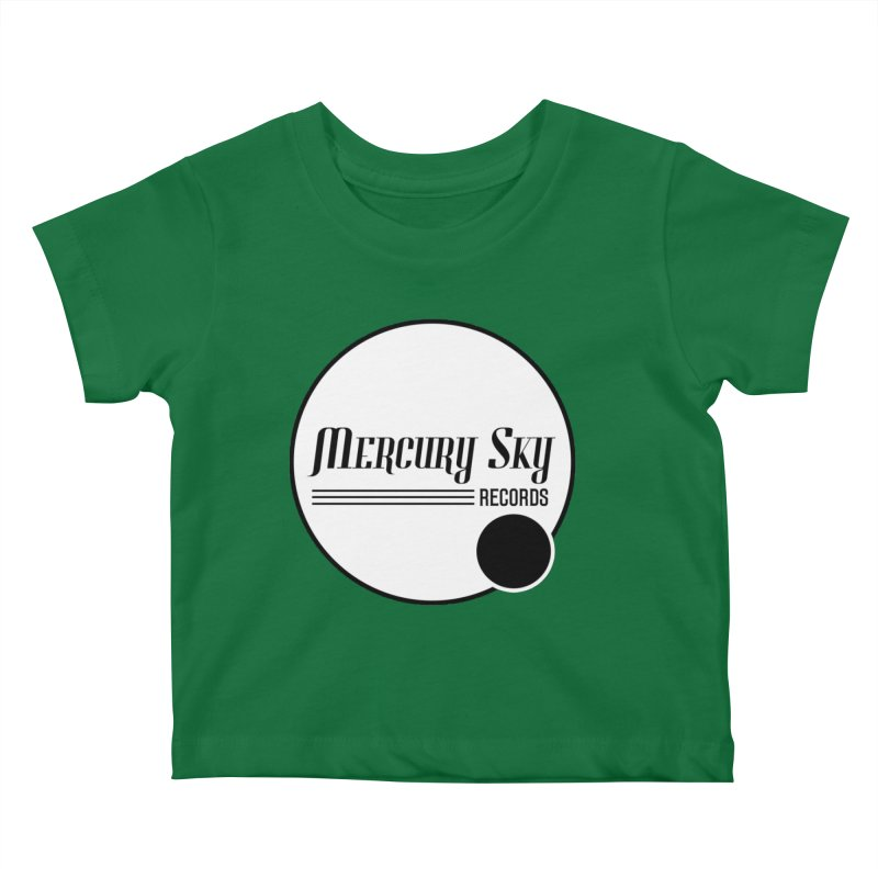 MERCURY SKY RECORDS SOLID Kids Baby T-Shirt by MercurySkyRecords's Artist Shop