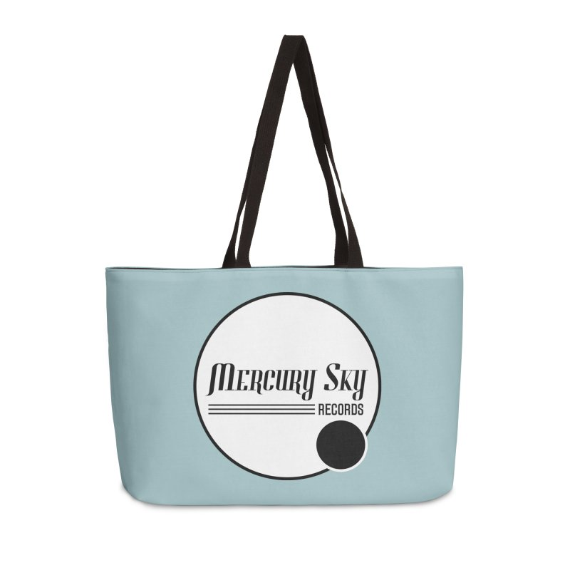 MERCURY SKY RECORDS SOLID Accessories Bag by MercurySkyRecords's Artist Shop