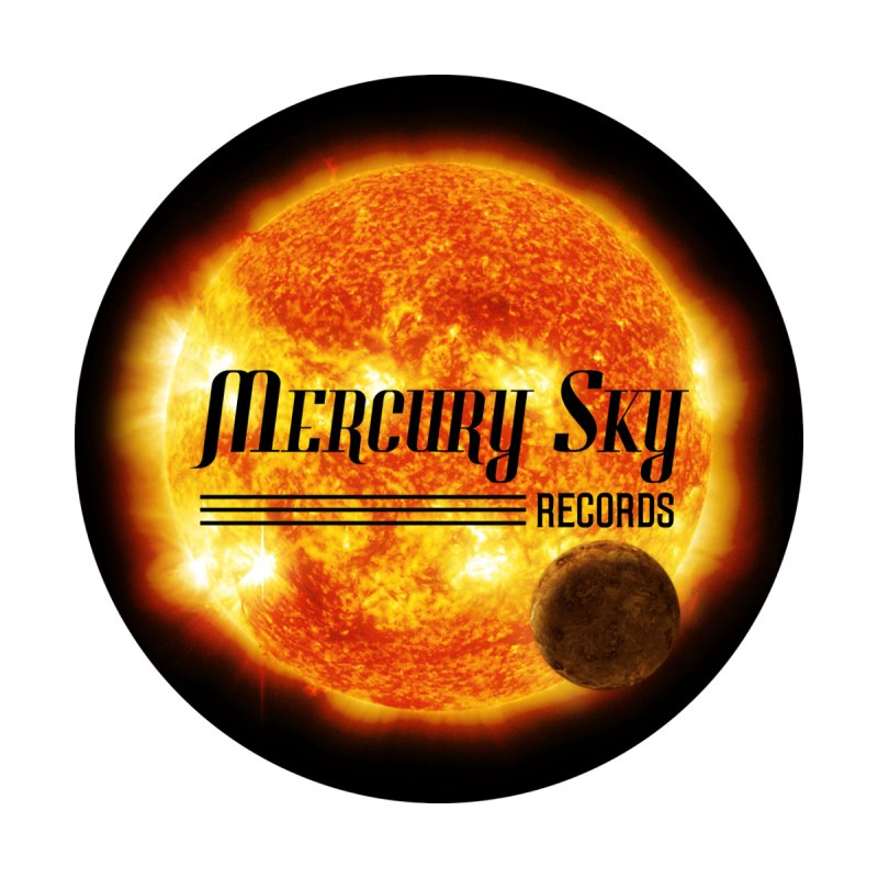MERCURY SKY STICKERS & MAGNETS Accessories Sticker by MercurySkyRecords's Artist Shop