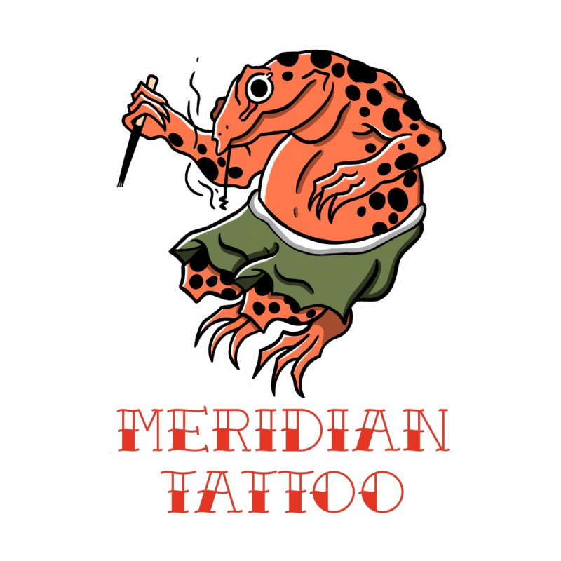 Meridian tattoo frog Men's T-Shirt by Meridian Tattoo Shop
