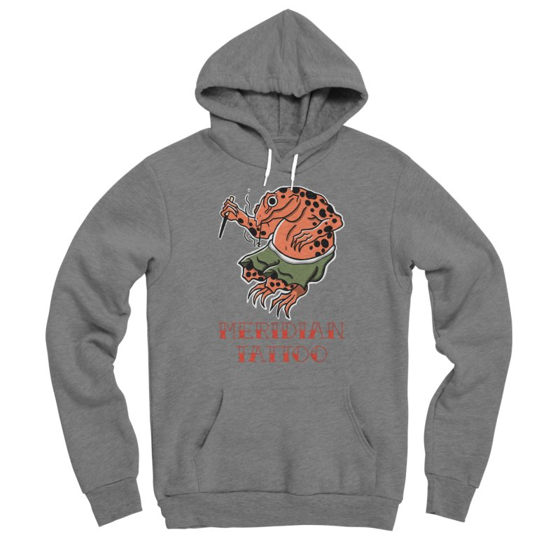 Meridian tattoo frog Men's Pullover Hoody by Meridian Tattoo Shop