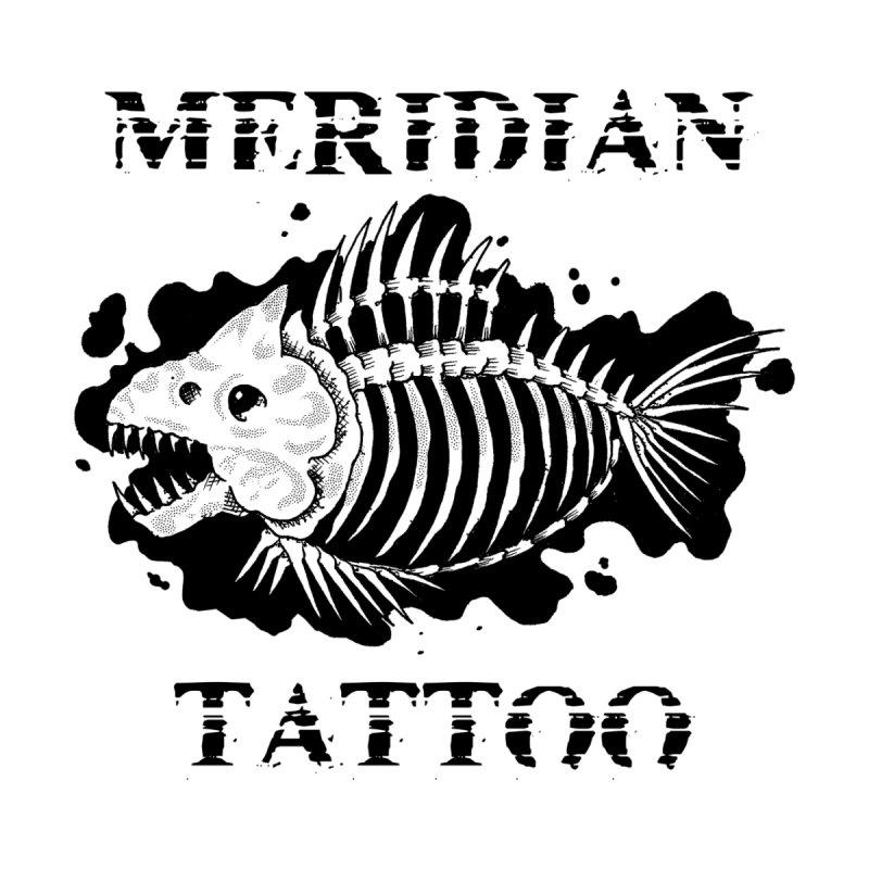 Dead fish Men's Sweatshirt by Meridian Tattoo Shop