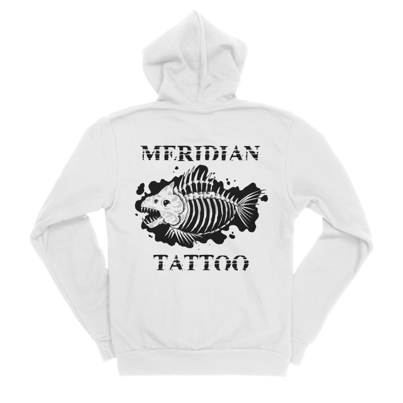 Dead fish Men's Zip-Up Hoody by Meridian Tattoo Shop