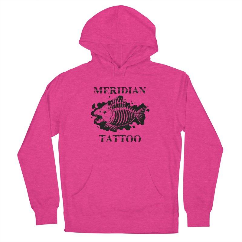 Dead fish Women's Pullover Hoody by Meridian Tattoo Shop