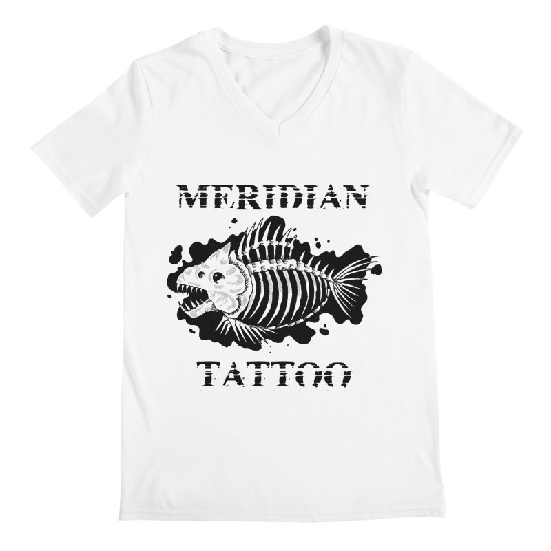 Dead fish Men's V-Neck by Meridian Tattoo Shop