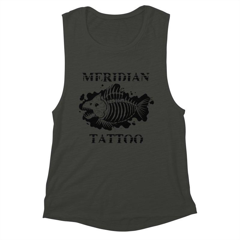 Dead fish Women's Tank by Meridian Tattoo Shop