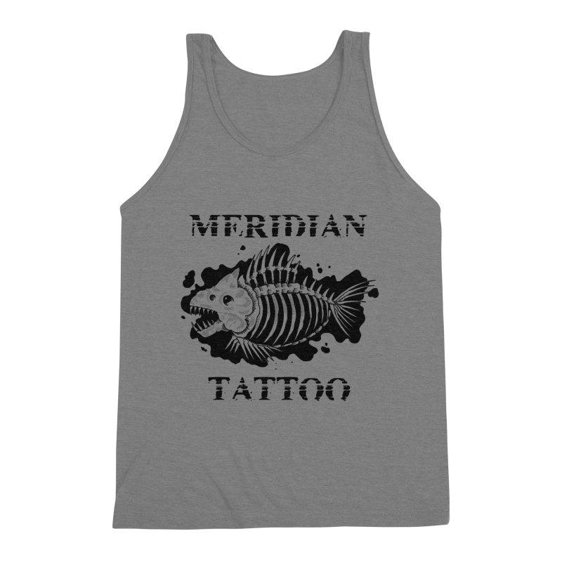 Dead fish Men's Tank by Meridian Tattoo Shop