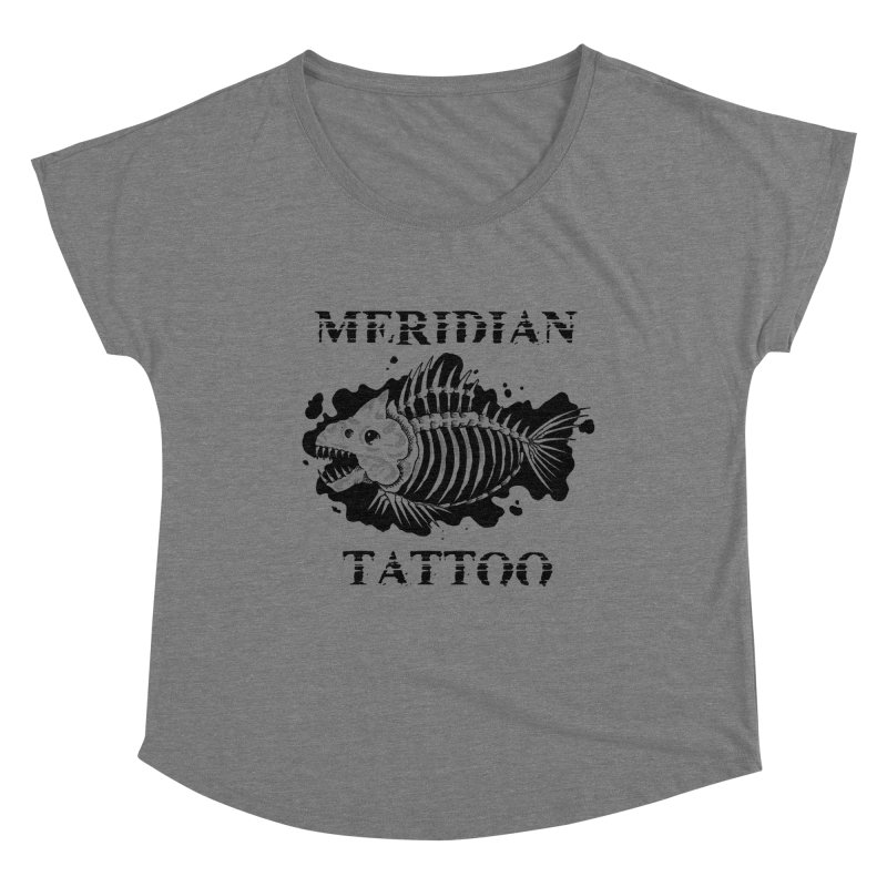 Dead fish Women's Scoop Neck by Meridian Tattoo Shop