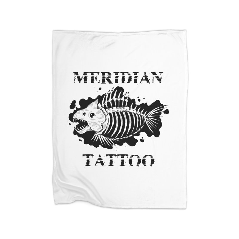 Dead fish Home Blanket by Meridian Tattoo Shop