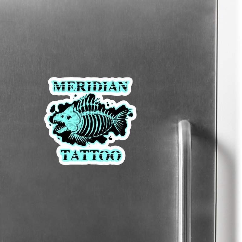 Dead fish Accessories Magnet by Meridian Tattoo Shop