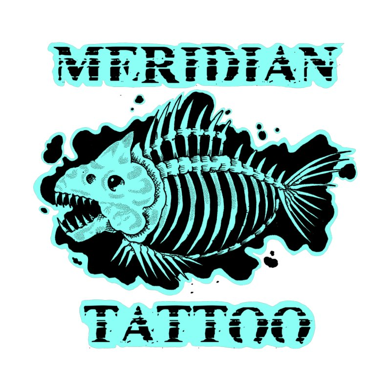 Dead fish Accessories Sticker by Meridian Tattoo Shop