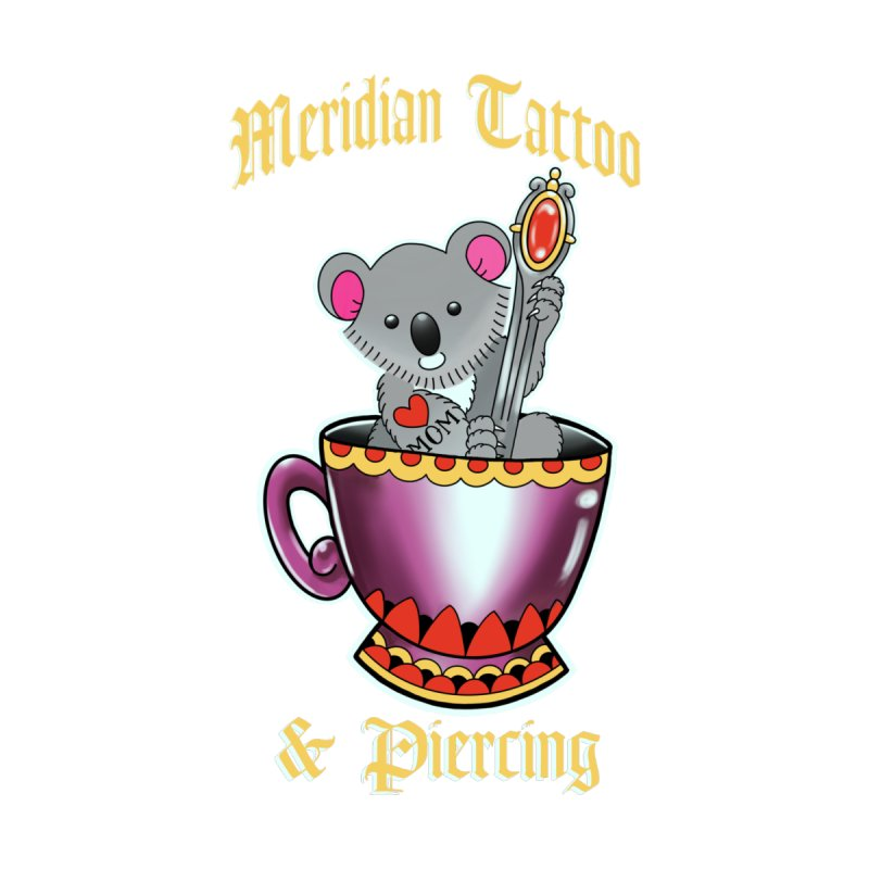 Koala tea Accessories Neck Gaiter by Meridian Tattoo Shop