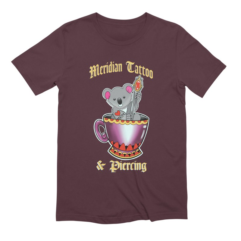 Koala tea Men's T-Shirt by Meridian Tattoo Shop