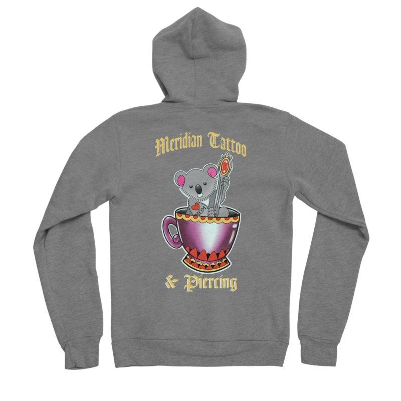 Koala tea Women's Zip-Up Hoody by Meridian Tattoo Shop