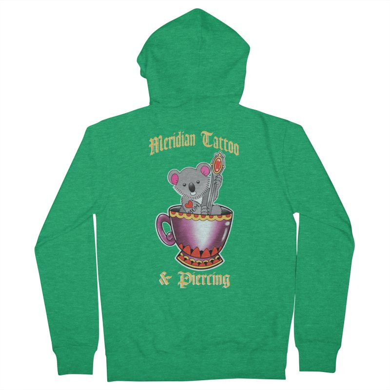 Koala tea Men's Zip-Up Hoody by Meridian Tattoo Shop
