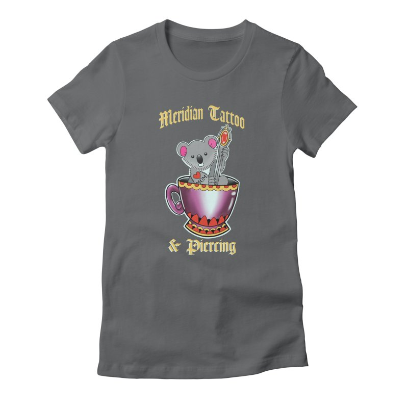 Koala tea Women's T-Shirt by Meridian Tattoo Shop