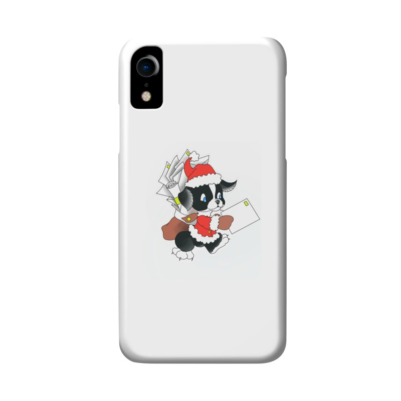 Santa puppy Accessories Phone Case by Meridian Tattoo Shop