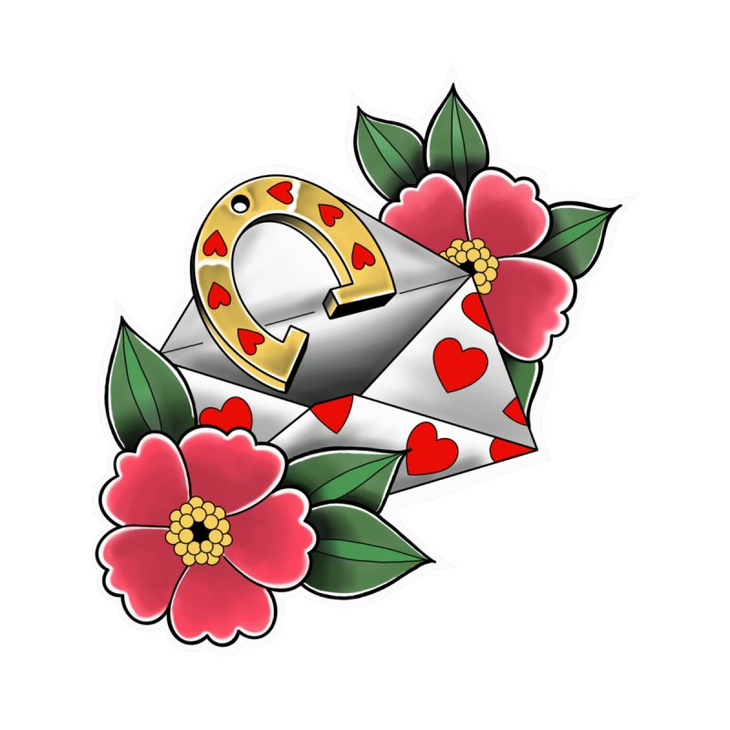 Valentines day Accessories Sticker by Meridian Tattoo Shop