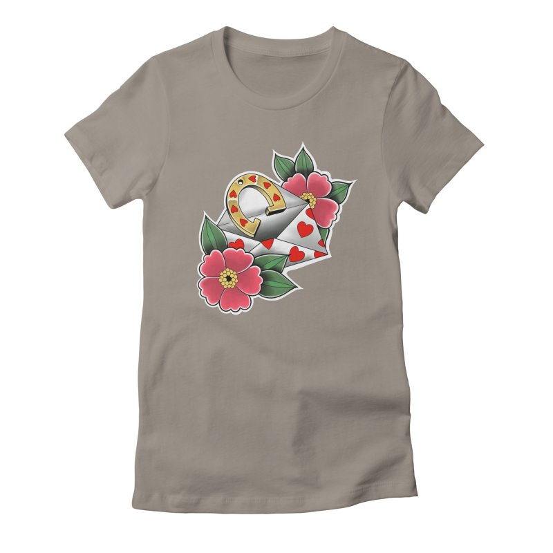 Valentines day Women's T-Shirt by Meridian Tattoo Shop