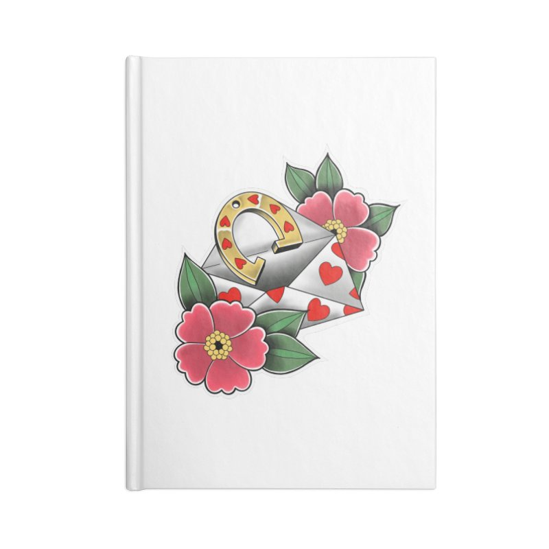 Valentines day Accessories Notebook by Meridian Tattoo Shop