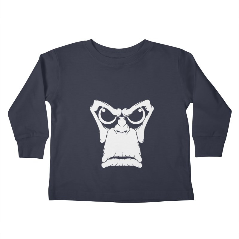 APE Kids Toddler Longsleeve T-Shirt by RLLBCK Clothing Co.