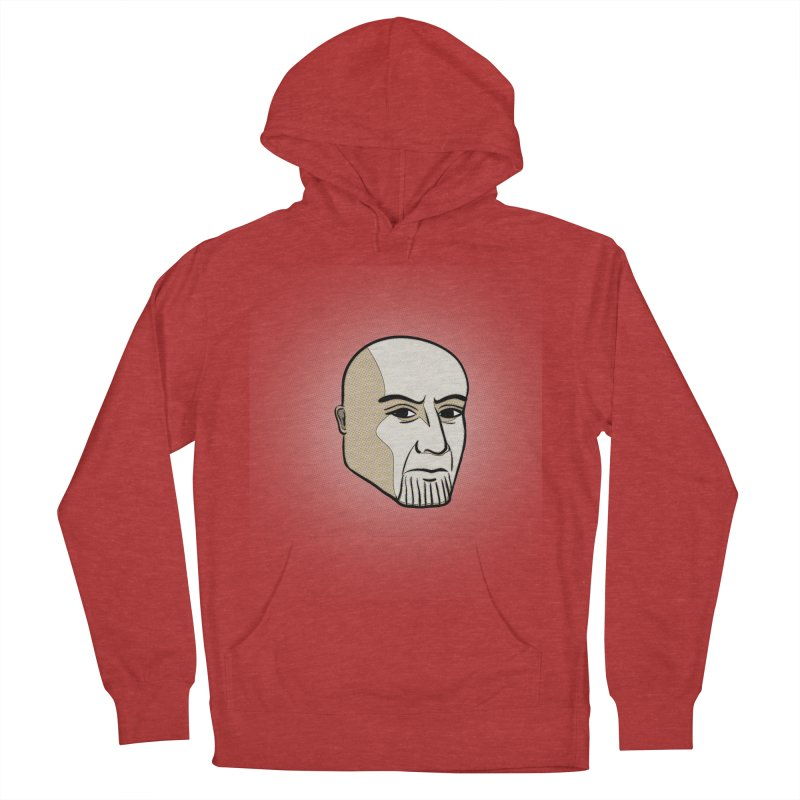 Face Of Thanos Women's French Terry Pullover Hoody by RLLBCK Clothing Co.