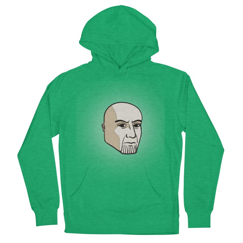 Face Of Thanos Men's French Terry Pullover Hoody by RLLBCK Clothing Co.