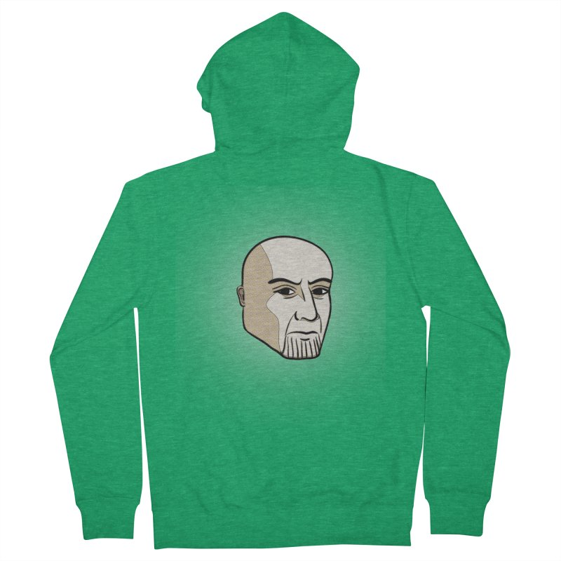 Face Of Thanos Women's French Terry Zip-Up Hoody by RLLBCK Clothing Co.