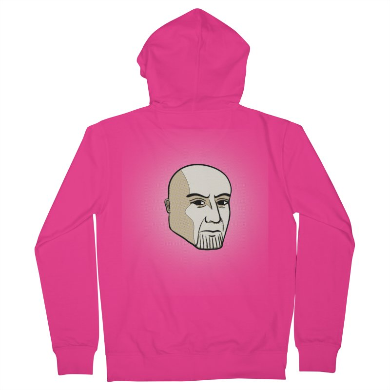 Face Of Thanos Men's French Terry Zip-Up Hoody by RLLBCK Clothing Co.