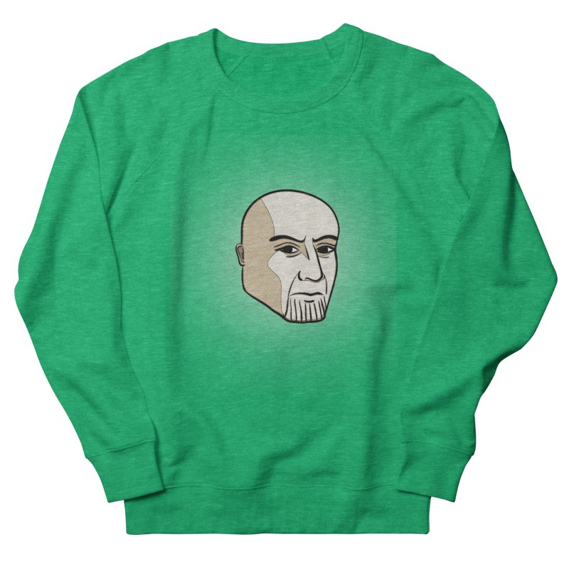 Face Of Thanos Men's French Terry Sweatshirt by RLLBCK Clothing Co.