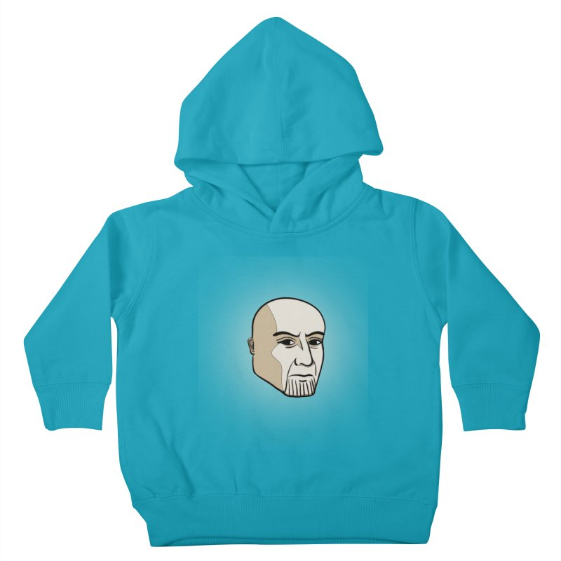 Face Of Thanos Kids Toddler Pullover Hoody by RLLBCK Clothing Co.
