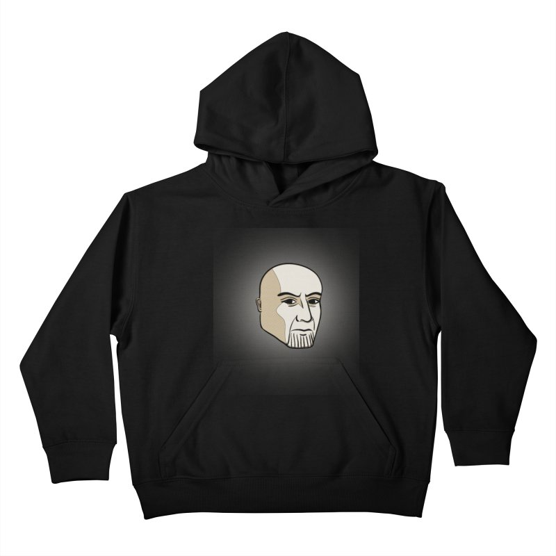 Face Of Thanos Kids Pullover Hoody by RLLBCK Clothing Co.