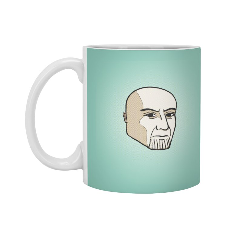 Face Of Thanos Accessories Standard Mug by RLLBCK Clothing Co.