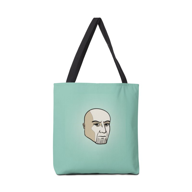 Face Of Thanos Accessories Tote Bag Bag by RLLBCK Clothing Co.