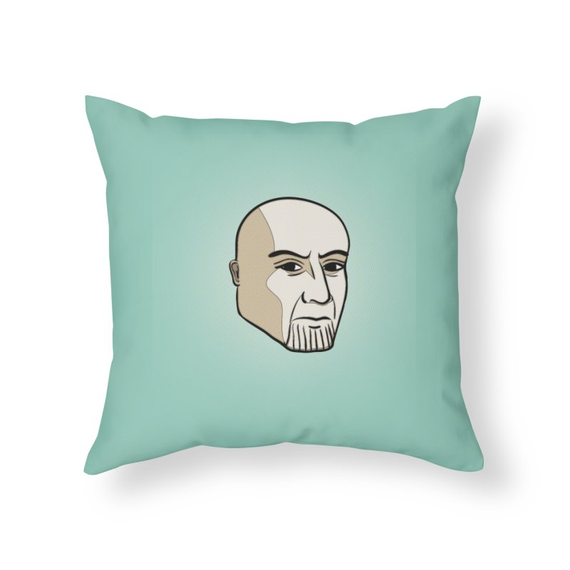 Face Of Thanos Home Throw Pillow by RLLBCK Clothing Co.