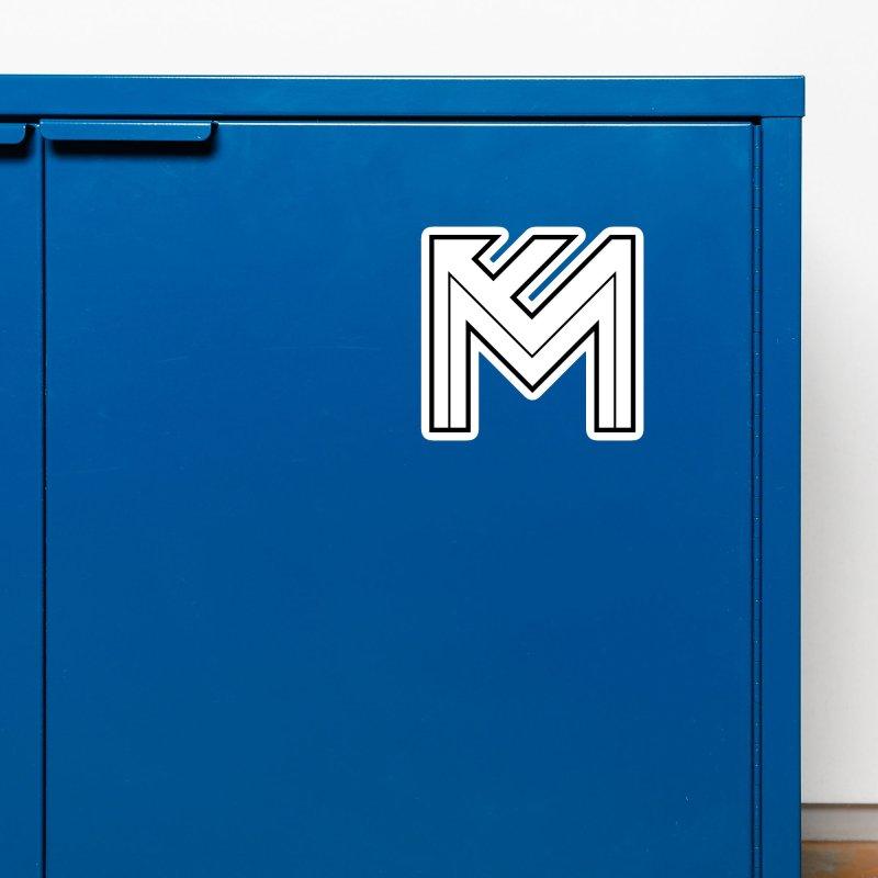 Black on White Logo Accessories Magnet by MerlotEmbargo's Artist Shop