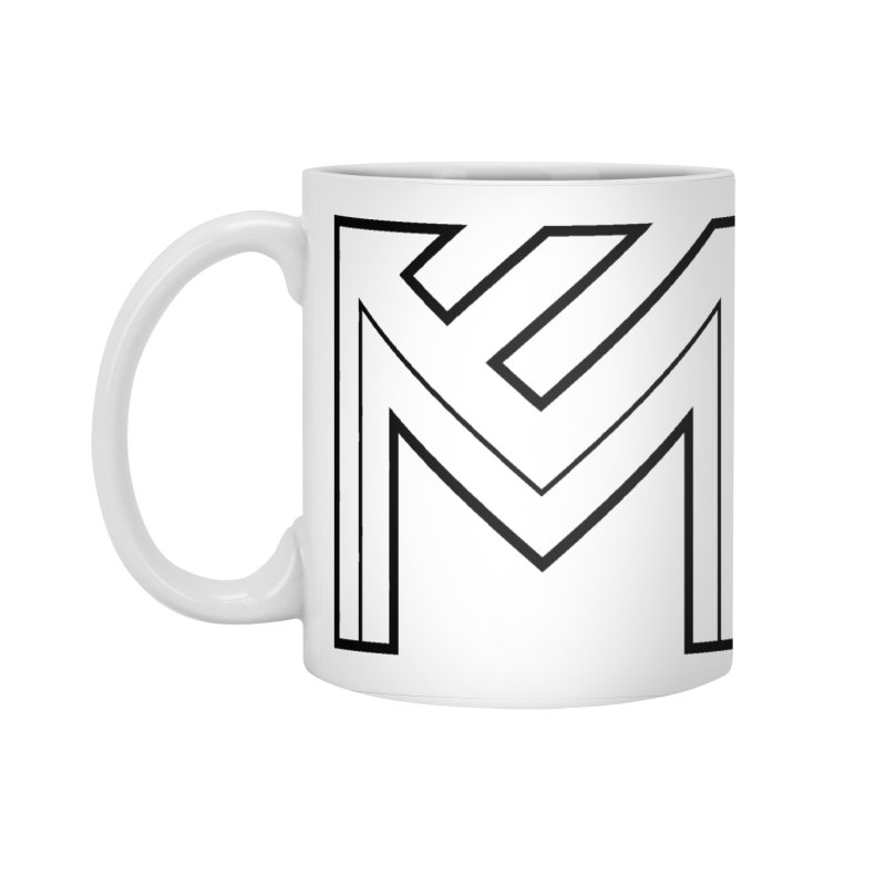 Black on White Logo Accessories Standard Mug by MerlotEmbargo's Artist Shop
