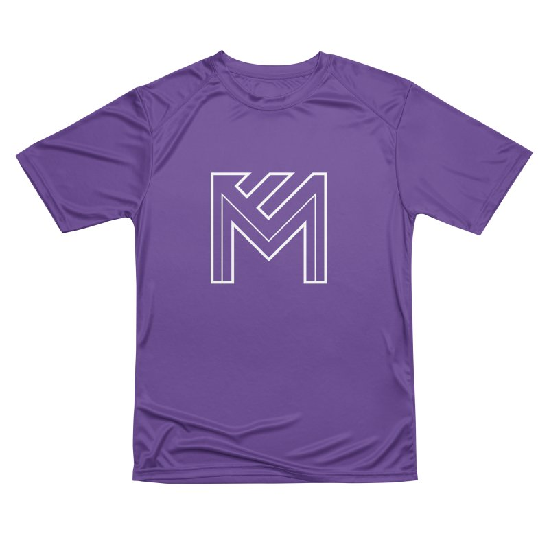 White on Black Merlot Embargo Logo Men's Performance T-Shirt by MerlotEmbargo's Artist Shop