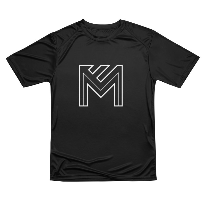 White on Black Merlot Embargo Logo Women's Performance Unisex T-Shirt by MerlotEmbargo's Artist Shop