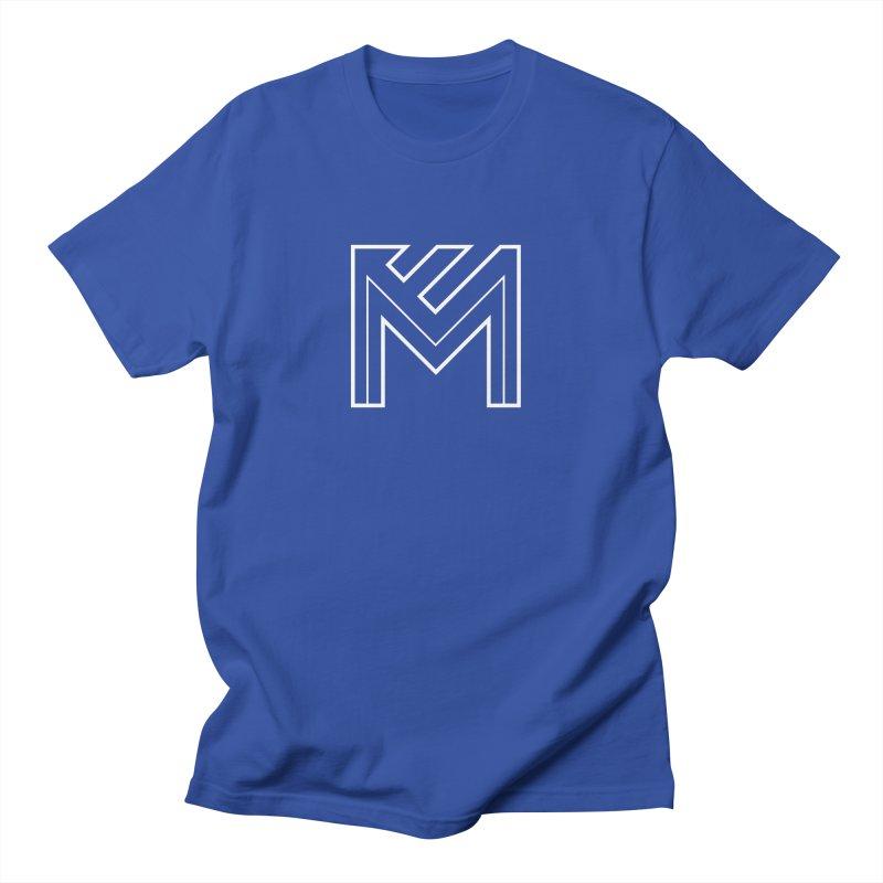 White on Black Merlot Embargo Logo Men's Regular T-Shirt by MerlotEmbargo's Artist Shop