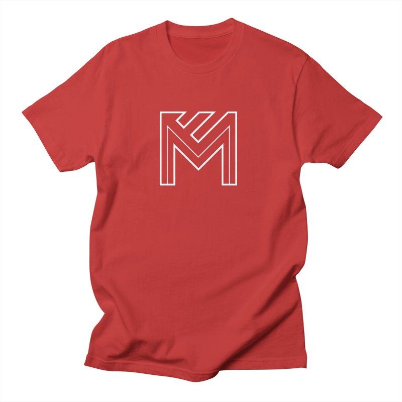 White on Black Merlot Embargo Logo Women's Regular Unisex T-Shirt by MerlotEmbargo's Artist Shop